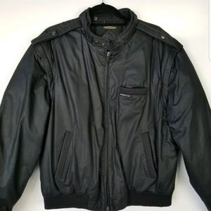 90's Members Only 2 in 1 Bomber/Harrington Jacket